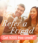 Refer a friend, earn store credit